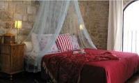 Bed and Breakfast Konoba - Deluxe dvokrevetna soba s bračnim kervetom s pogledom na grad - Sobe Sibenik