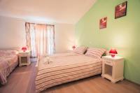 Valis Aurea Baška - Trokrevetna soba s pogledom na more - Sobe Baska