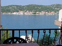 Apartments Ive - Appartement 1 Chambre avec Balcon et Vue sur Mer - Tisno
