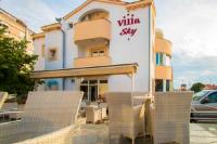 Villa Sky - Chambre Double ou Lits Jumeaux avec Balcon - zadar chambres
