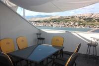 Apartments Sv. Jelena 2 - Appartement 1 Chambre avec Balcon et Vue sur Mer - sea view apartments pag