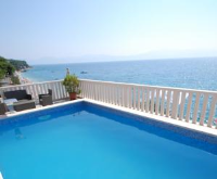 Guesthouse Villa Paškal - Studio with Balcony and Sea View - Houses Kapelica