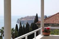 Apartments Sv.Jakov - Dvokrevetna soba s bračnim krevetom i terasom s pogledom na more - Ploce