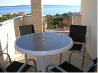 Apartments Sanmar - One-Bedroom Apartment with Balcony and Sea View - Mandre
