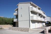 Apartments Miki - Apartment mit 1 Schlafzimmer und Balkon - meerblick wohnungen pag