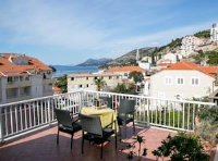Apartments Tomy & Domy - One-Bedroom Apartment with Terrace and Sea View - apartments in croatia