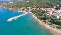 Apartments Mihinjač - Two-Bedroom Apartment with Balcony and Sea View - Soline