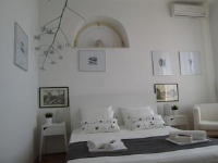 St. Lazarus Room - Dvokrevetna soba s bračnim krevetom i balkonom s pogledom na more - Sobe Ploce