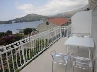 Apartments Marija - Apartman s 2 spavaće sobe s balkonom i pogledom na more - Apartmani Slano