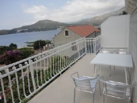 Apartments Marija - Appartement 2 Chambres avec Balcon et Vue sur la Mer - Appartements Slano