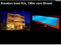 Apartments Kovacic - One-Bedroom Apartment with Balcony - Malinska