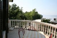 Bed and Breakfast Atalanta - Dvokrevetna soba s bračnim krevetom i balkonom s pogledom na more - Sobe Crikvenica