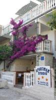 Studios Dolček - Apartman s 2 spavaće sobe s terasom - Krvavica