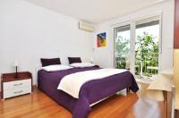 Apartments Zanic on The Beach - Dvokrevetna soba Comfort s bračnim krevetom s pogledom na more - Sobe Podstrana
