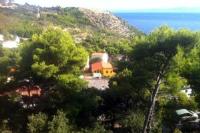 Ra-Krvavica Studio - Studio avec Terrasse et Vue sur la Mer - Krvavica