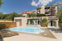 Villa Bougenvilia Tomas - One-Bedroom Apartment with Balcony and Sea View - Blato