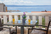 Apartments Ani - Two-Bedroom Apartment with Balcony and Sea View - apartments makarska near sea