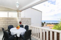 Apartment Debos - Three-Bedroom Apartment with Balcony and Sea View - dubrovnik apartment old city