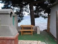 Apartments Kristina - Apartman s 1 spavaćom sobom i pogledom na more (5 odraslih osoba) - Tkon