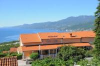 Hotel Villa Mira - Dvokrevetna soba s bračnim krevetom ili s 2 odvojena kreveta s pogledom na more - Kastav