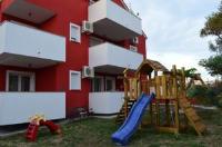 Apartments Aurora - Apartment mit 2 Schlafzimmern - Povljana