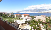 Apartments Ivan - Apartman s 1 spavaćom sobom s balkonom i pogledom na more - Pag