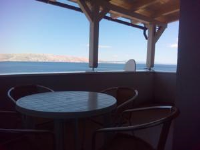 Šojat Apartment - One-Bedroom Apartment with Terrace and Sea View - Apartments Senj