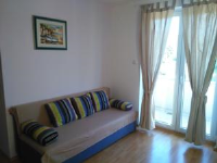 Apartments Nikolina - Studio with Balcony and Sea View - apartments in croatia