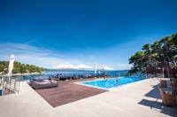 Hotel Maxim - Dvokrevetna soba s bračnim krevetom i balkonom s pogledom na more - Bozava