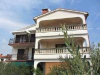 Guesthouse Jelka 3 - Dvokrevetna soba s bračnim krevetom ili s 2 odvojena kreveta s pogledom na more - Sobe Malinska