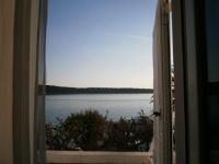 Guest House Palme - Dvokrevetna soba s bračnim krevetom i balkonom s pogledom na more - Barbat na Rabu
