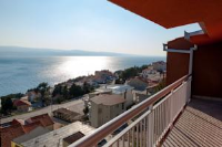 Apartments Toni - Three-Bedroom Apartment with Balcony and Sea View - Stanici