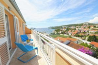 Apartments Sunny Elza - Studio with Balcony and Sea View - Martina