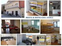 Hostel Cool - Soba s 2 odvojena kreveta sa zajedničkom kupaonicom - Sobe Vodice