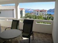 Apartments Dujmovic Ana - Appartement 1 Chambre avec Balcon et Vue sur Mer - Appartements Baska Voda