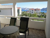 Apartments Dujmovic Ana - One-Bedroom Apartment with Balcony - Baska