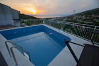 Apartments Zora - Apartman s 1 spavaćom sobom s balkonom i pogledom na more - Apartmani Senj