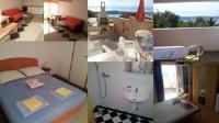 Apartments Matteo - Dvokrevetna soba s bračnim krevetom s balkonom - Omisalj