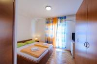 Apartments Iva - Dvokrevetna soba s bračnim krevetom s pogledom na more - Apartmani Stobrec