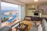 Apartments Villa Kalačić - Apartment mit 1 Schlafzimmer, Terrasse und Meerblick - Ploce