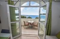 Apartments Kapulica - Dvokrevetna soba s bračnim krevetom i balkonom s pogledom na more - Sobe Makarska