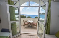 Apartments Kapulica - Double Room with Balcony and Sea View - Rooms Makarska