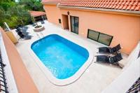 Villa Marija - Luksuzni apartman s 1 spavaćom sobom s balkonom i pogledom na more - Podgora
