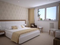 Hotel Corner - Dvokrevetna soba s bračnim krevetom ili s 2 odvojena kreveta - Sobe Split