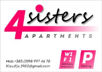 4Sisters Apartments - Apartman s 1 spavaćom sobom s balkonom - Apartmani Gradac
