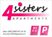 4Sisters Apartments - Apartment mit 1 Schlafzimmer und Balkon - Haus Gradac