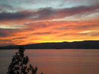 Apartment Ulica Ive Senjanina - Double Room with Balcony and Sea View - Rooms Senj