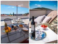 Apartments Penthouse Terrace - Apartment mit 2 Schlafzimmern und Terrasse - Ferienwohnung Split