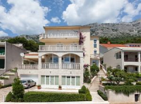 Apartmens Villa Antonio 88 - Dvokrevetna soba s bračnim krevetom i balkonom s pogledom na more - Sobe Brela