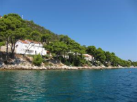 Apartments Velo Lago - Two-Bedroom Apartment with Sofa Bed and Sea View - Apartments Lastovo